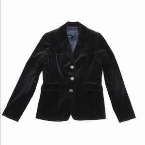 J crew schoolboy 4 women velvet flaws jacket